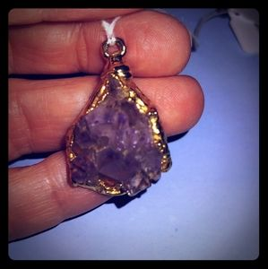Jewelry - Amethyst Chunk Necklace